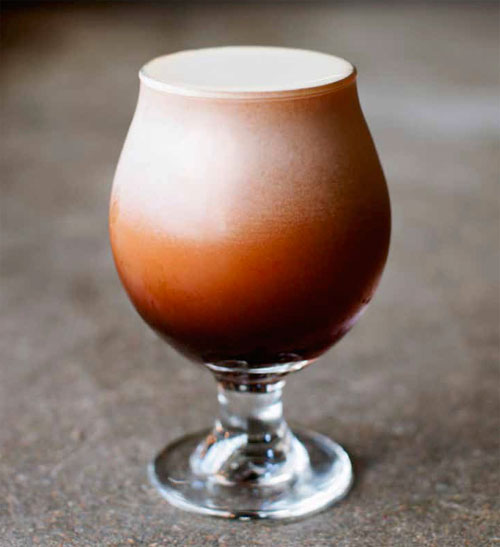 Nitro Iced Coffee on tap.