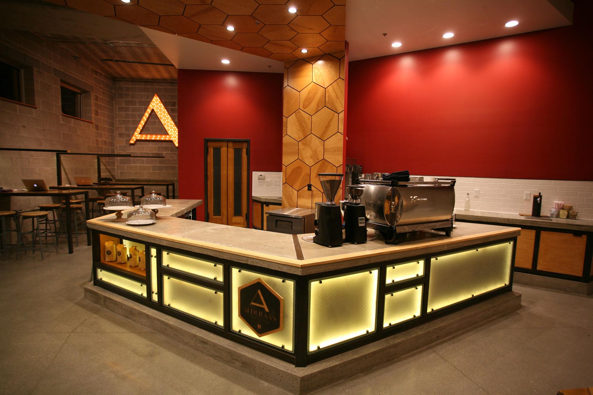 Alderaan Coffee Interior
